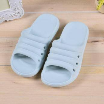 Simple Style Bathroom Slippers for Children (Blue)(26)