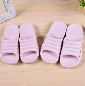 Simple Style Bathroom Slippers for Children (Pink)(28)